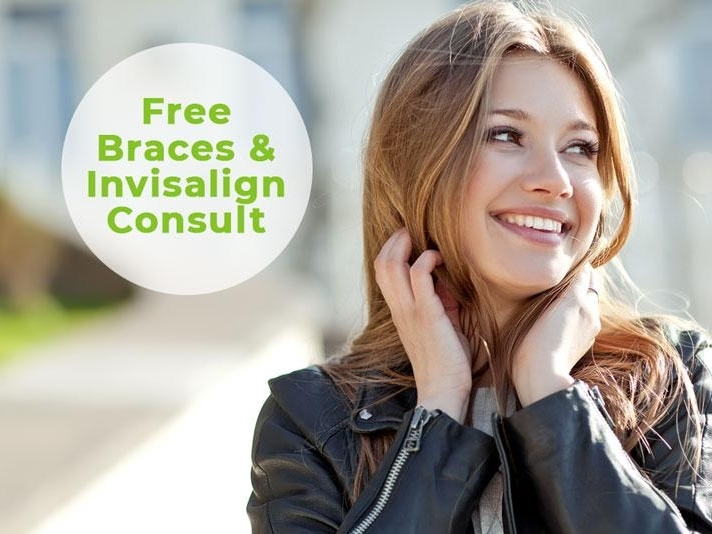 Advertisement for free Invisalign consultation in Ramsgate